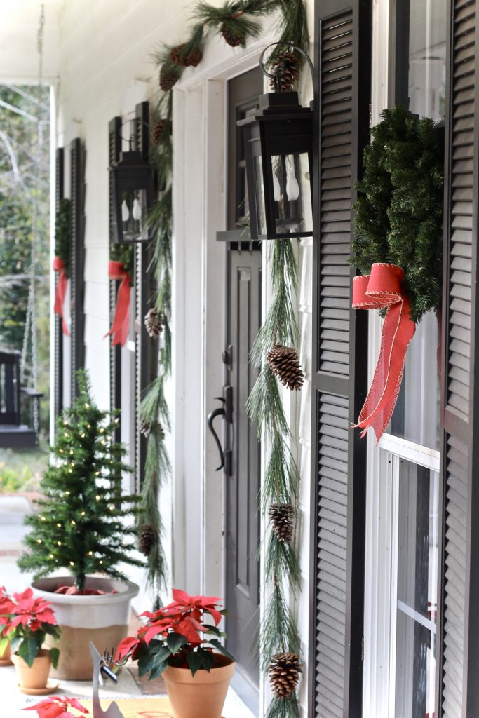 Modern Farmhouse Christmas Front Porch Our Hammock House