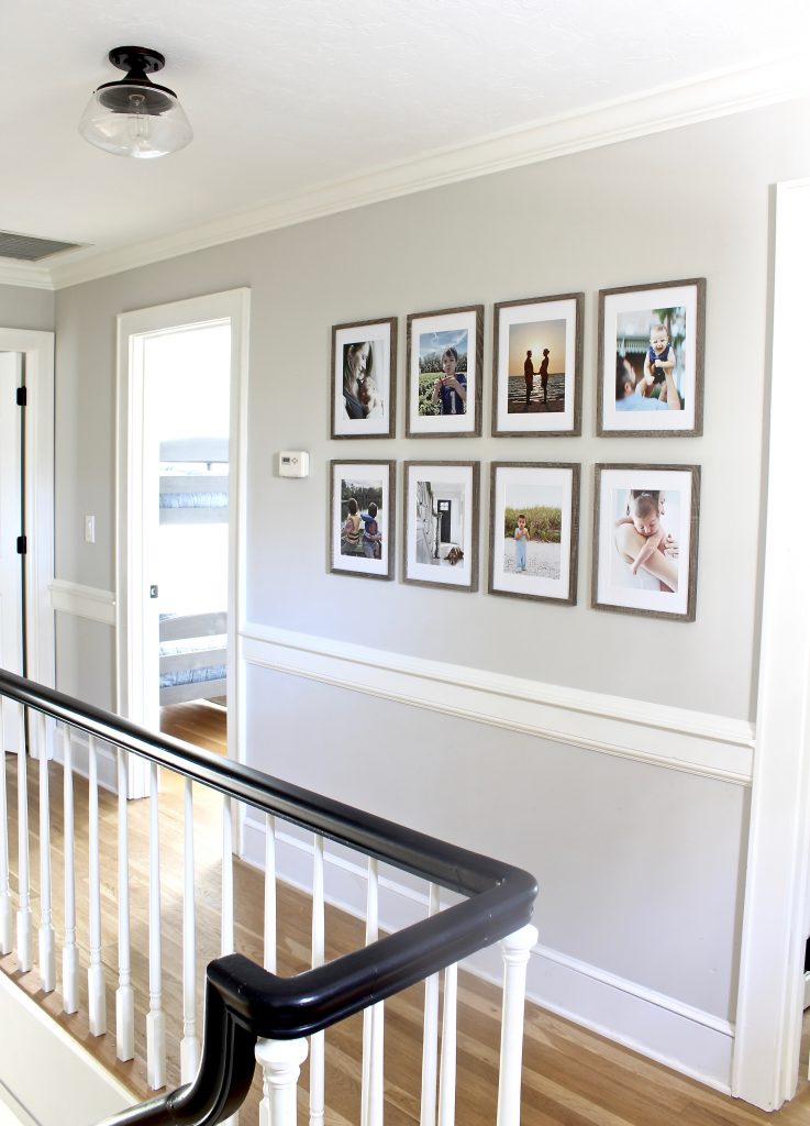 How To Hang A Grid Style Gallery Wall Our Hammock House